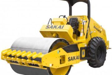 Sakai SV204, SV414TF, SV544FB Vibratory Rollers