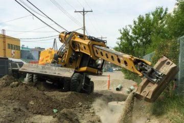 Gradall XL 3300 V Wheeled Excavator