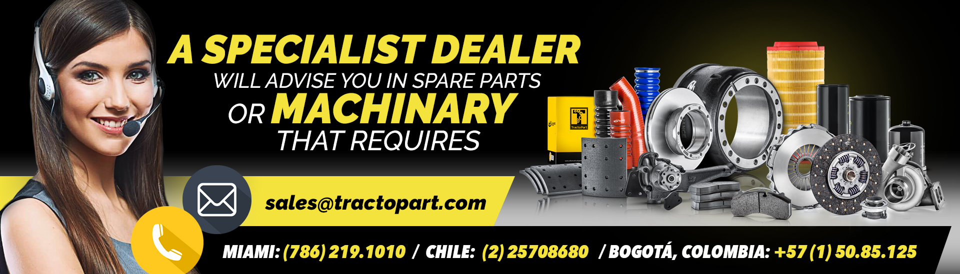Tractopart |Parts for Heavy Equipment in Miami, Fl