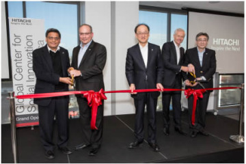 Hitachi Opens New California Research Facility for Collaborative  Creation in Social Innovation
