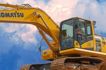 KOMATSU SUFFERS FROM DRASTICALLY REDUCED CHINESE DEMAND