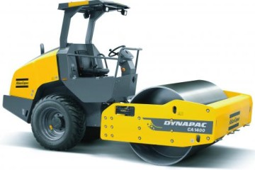 ATLAS COPCO CA1400 SOIL ROLLER WITH TWO AMPLITUDES, SPEED SETTINGS