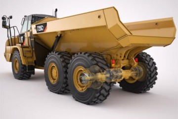 CAT C2 SERIES ARTICULATED TRUCKS