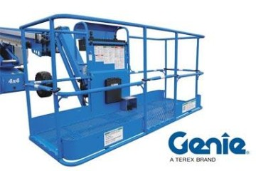 GENIE PLATFORM BASKETS IMPROVED WITH MORE ENTRY POINTS FOR OPERATOR MOBILITY