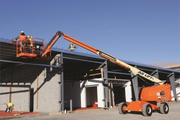 JLG Debuts Three Boom Lifts