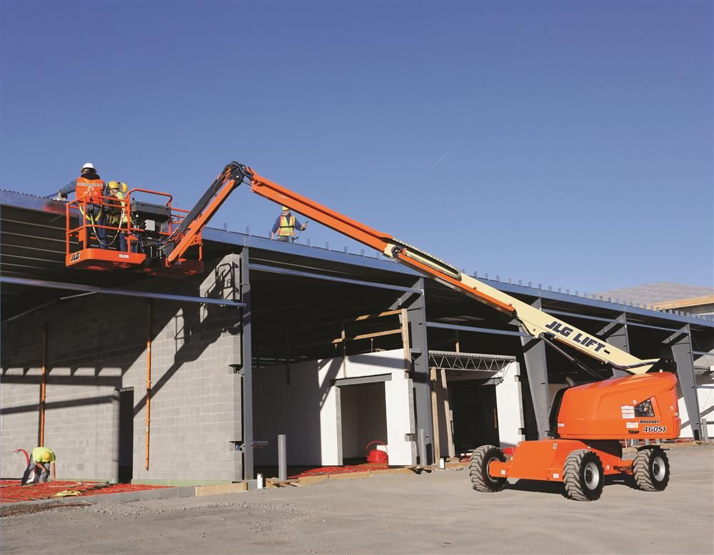Construction Boom Lift Hydraulic : Construction equipment tractopart