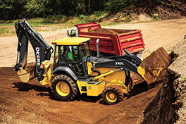 JohnDeere Rounds Out L-Series Backhoe Portfolio with Powerful 710L