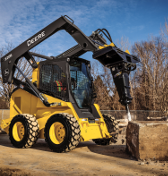 New Hydraulic Hammers Break Into the JohnDeere Attachments Lineup