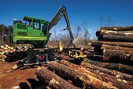 John Deere 337E Knuckleboom Loader Adds a Proven Solution to Full-Tree Logging Lineup