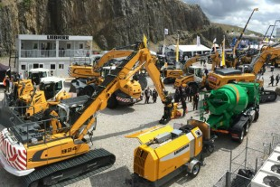 Liebherr breaks new ground with customers at Hillhead 2016