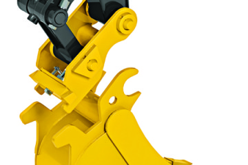 Switch Attachments From Your Seat With the  New John Deere Hydraulic Coupler for Compact Excavators