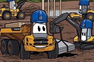 """VOLVO HONORS COLLEAGUE WITH CHARACTER THAT ENCOURAGES OTHERS TO """"PLAY IN THE DIRT"""""""