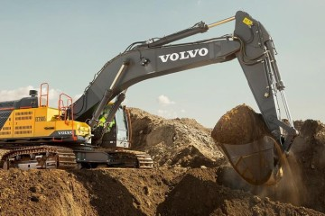 VOLVO DEBUTS ITS LARGEST EXCAVATOR TO DATE AT MINEXPO 2016