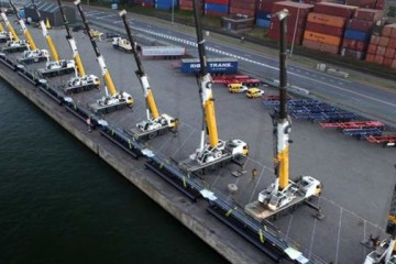 14 Groves perform stunning multi-crane lift for industrial plant project