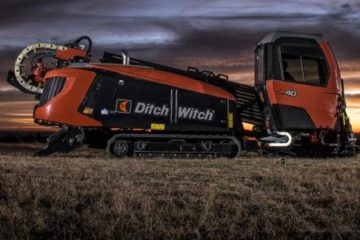 DITCH WITCH JT40 DIRECTIONAL DRILL