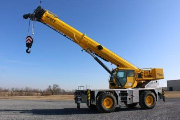 Grove GRT655 Rough Terrain Crane