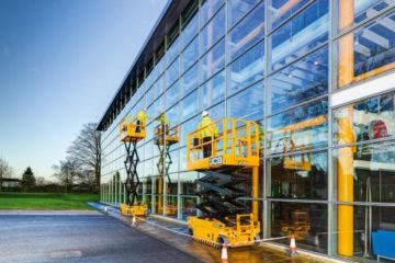 JCB INTRODUCES FIRST AERIAL LIFT PRODUCTS