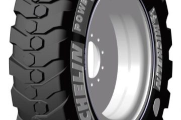 MICHELIN POWER DIGGER BIAS TIRE FOR WHEELED EXCAVATORS
