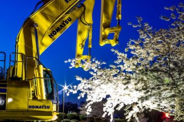 Photo of the Day: Komatsu plant